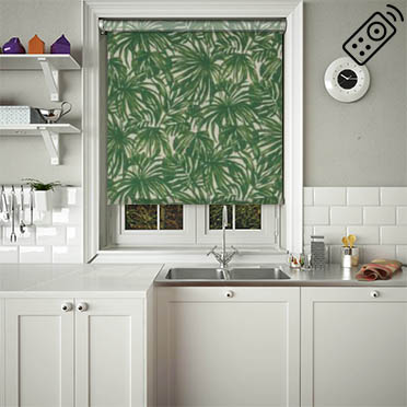 Palm Verde Motorised Roller Blind