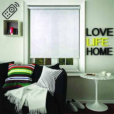 Phia Luna Motorised Roller Blind
