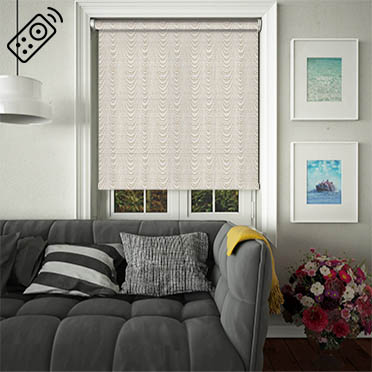 Rapids Bronze Motorised Roller Blind