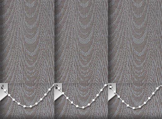 Rapids Metallic Bronze Replacement Vertical Blind Slats
