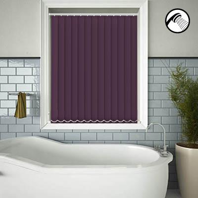 Shower Safe Aubergine