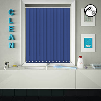Shower Safe Imperial Blue
