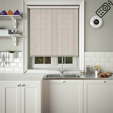 Slinky Sand Motorised Roller Blind