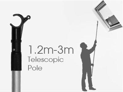 Telescopic Operating Rod