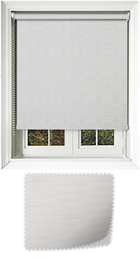 Amour Ivory Replacement Vertical Blind Slat