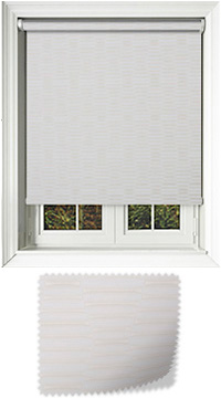 Amour Ivory Motorised Roller Blind