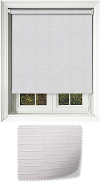 Amour Pearl Bifold Doors Blind