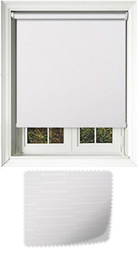 Amour White Replacement Vertical Blind Slat