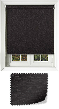 Arcadia Black Bifold Doors Blind