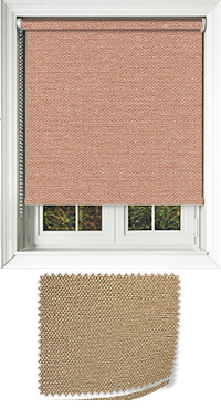 Asteroid Copper Vertical Blind
