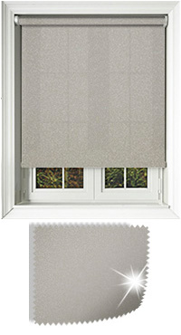 Asteroid Cream Cordless Roller Blind