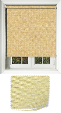 Asteroid Gold Vertical Blind