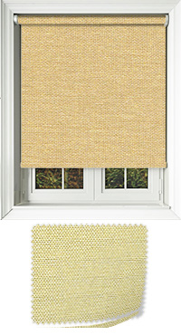 Asteroid Gold Cordless Roller Blind