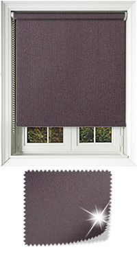 Asteroid Mulberry Cordless Roller Blind