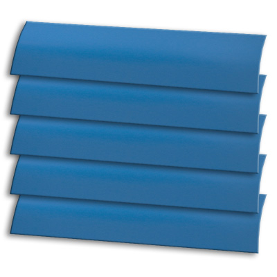Atlantic Blue Replacement Vertical Blind Slat