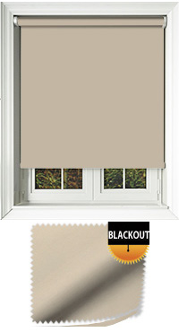 Blackout Beige Replacement Vertical Blind Slat