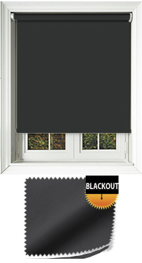 Blackout Black Replacement Vertical Blind Slat