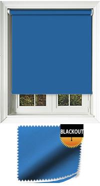 Blackout Blue Replacement Vertical Blind Slat