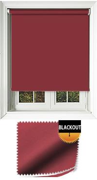 Blackout Cerise Bifold Doors Blind