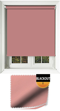 Blackout Coral Replacement Vertical Blind Slat