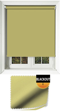 Blackout Fresh Apple Roller Blind
