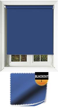 Blackout Glacier Blue Skylight Blind