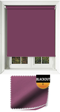 Blackout Grape Replacement Vertical Blind Slat
