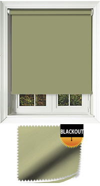 Blackout Green Vertical Blind