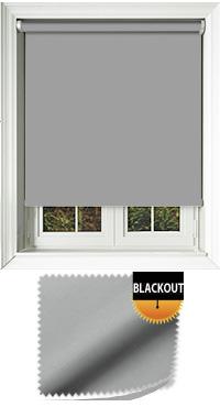 Blackout Grey Replacement Vertical Blind Slat