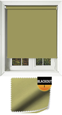 Blackout Lime Cordless Roller Blind