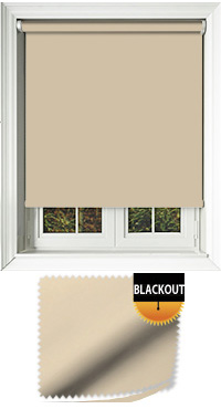 Blackout Linen Vertical Blind