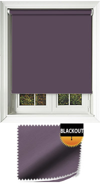 Blackout Mulberry Skylight Blind