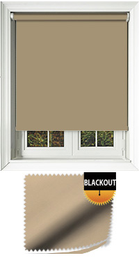 Blackout Old Gold Vertical Blind