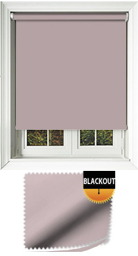 Blackout Orchid Roller Blind