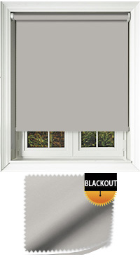 Blackout Silver Roller Blind