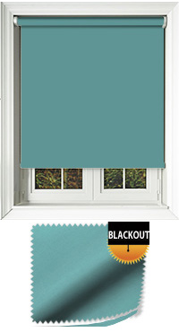 Blackout Turquoise Replacement Vertical Blind Slat