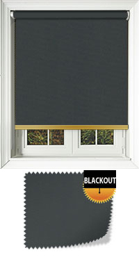 Bedtime Anthracite With Gold Bottom Bar
