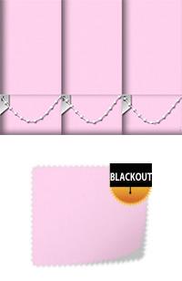 Bedtime Ballet Pink Bifold Doors Blind