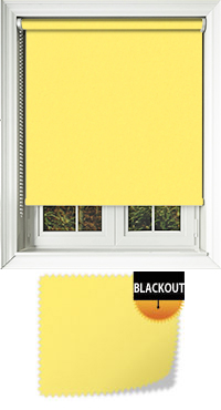 Bedtime Canary Yellow Vertical Blind