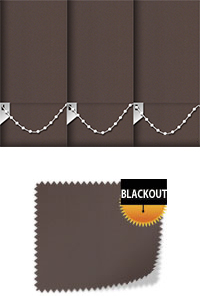 Bedtime Chocolate Replacement Vertical Blind Slat