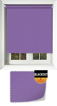 Bedtime Deep Purple Replacement Vertical Blind Slat