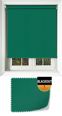 Bedtime Green Skylight Blind