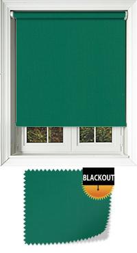Bedtime Green Bifold Doors Blind