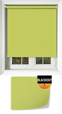 Bedtime Lime Motorised Roller Blind