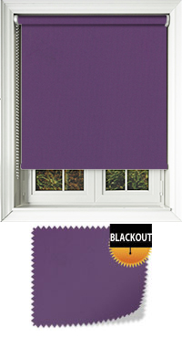 Bedtime Purple Replacement Vertical Blind Slat