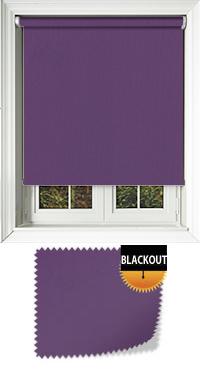 Bedtime Purple Vertical Blind