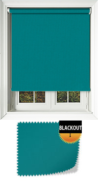 Bedtime Teal Skylight Blind