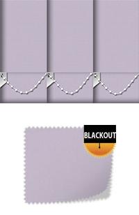 Bedtime Violet Replacement Vertical Blind Slat