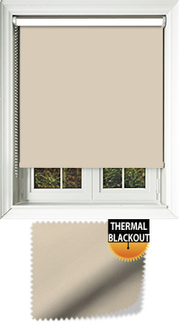 Blackout Thermic Beige Vertical Blind
