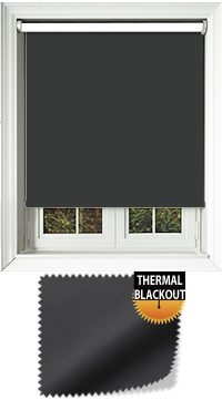 Blackout Thermic Black Skylight Blind